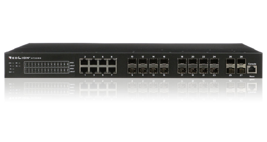 Red Lion prezentuje nowy switch Gigabit Ethernet Layer 3